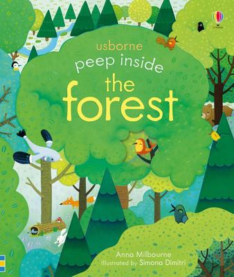 Peep Inside a Forest (Lift-the-Flap Board Book)