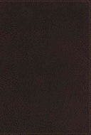 NKJV Personal Size Giant Print End-of-Verse Reference Bible (Brown Imitation Leather)