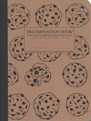 Chocolate Chip Ruled Decomposition Book