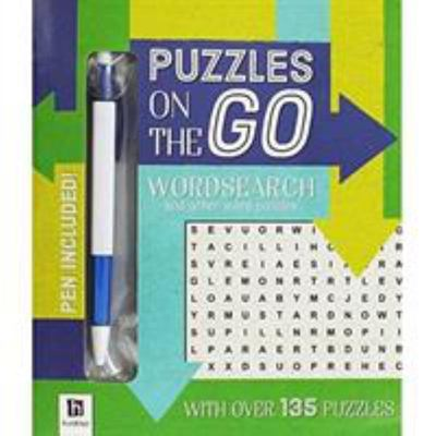 Puzzles On The Go Wordsearch 2 Blue