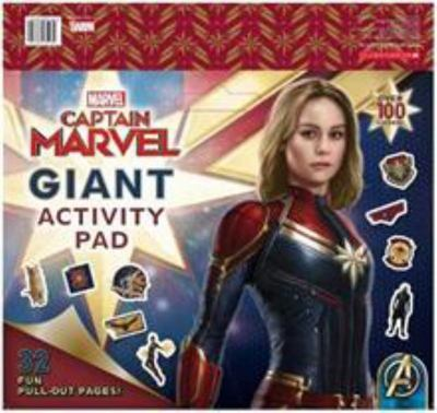 Marvel - Captain Marvel Giant Activity Pad