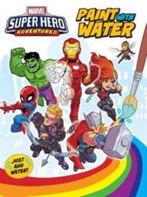 Marvel Super Hero Adventures Paint with Water