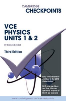 Cambridge Checkpoints VCE Physics Units 1 And 2