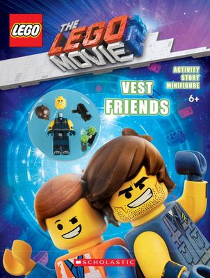 The LEGO Movie 2: Vest Friends Activity Book with Minifigure