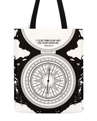 Herman Melville Compass Tote