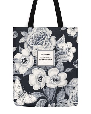 Percy Shelley Blue Tote