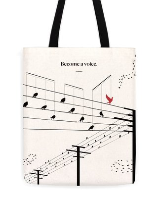 Sappho Voice Tote
