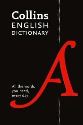 Collins English Dictionary Paperback Edition - 8th Edition