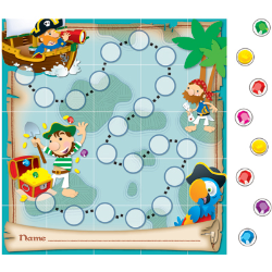 Pirates Mini Incentive Pad with Stickers