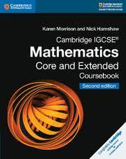 Cambridge IGCSE Mathematics Core and Extended Coursebook 2nd Edition