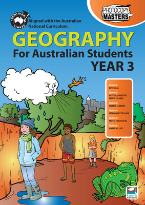 Geography for Australian Students Year 3 REP-1667