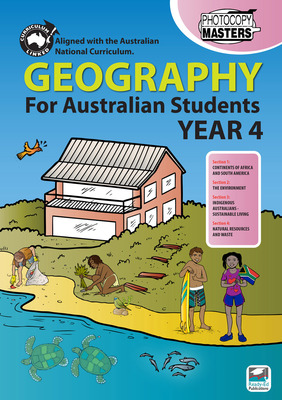 Geography for Australian Students Year 4 REP-1668