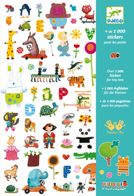 Stickers for Little Ones 1000