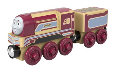 Caitlin (Wooden train new ed 2018)