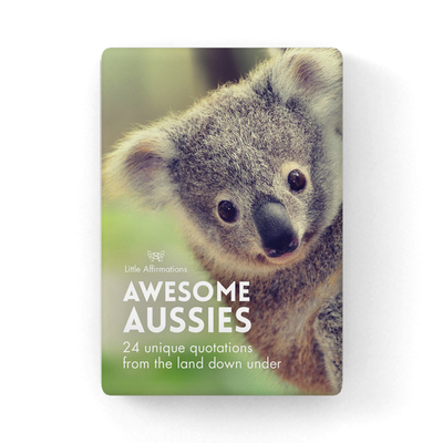 DAA Awesome Aussies Little Affirmations Cards