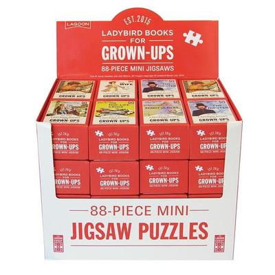 Ladybird For Grown-Ups Mini Jigsaw Puzzle