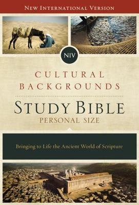 NIV Cultural Backgrounds Study Bible, Personal Size, HB