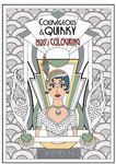 Courageous and Quirky: 1920's Colouring Book