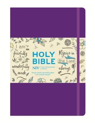 NIV Larger Print Journalling Hardback Bible