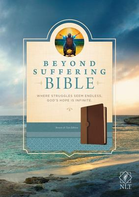 NLT Beyond Suffering Bible (Brown Imitation Leather)