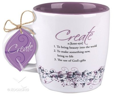 Create Ceramic Mug // Matthew 12:35