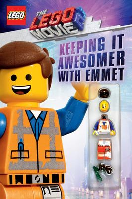 Keeping it Awesomer with Emmet (The LEGO Movie 2: with minifigure)