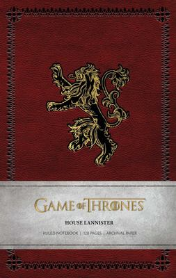 Game of Thrones - House Lannister Ruled Notebook