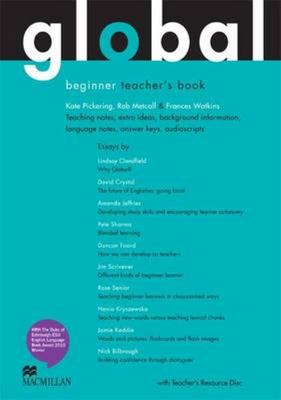 Global Beginner Teacher Book + Test CD Pack