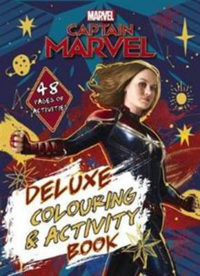 Marvel - Captain Marvel Deluxe Colouring and Activity Book