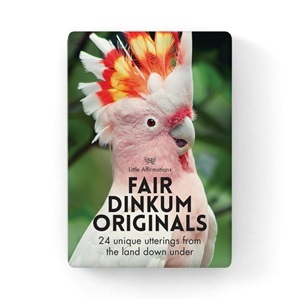 Fair Dinkum Originals Little Affirmations 24 cards