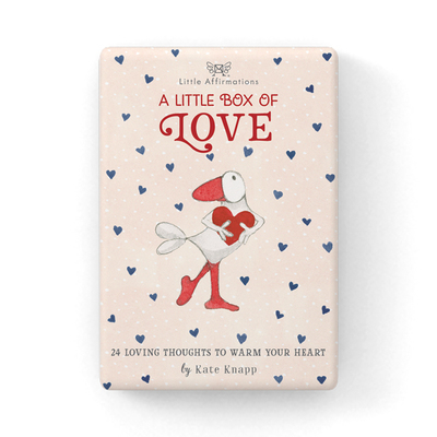 A Little Box of Love: 24 Loving Thoughts to Warm Your Heart (Boxed Set of Little Affirmations Cards)