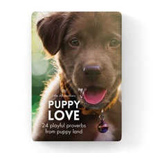Puppy Love: Boxed Set of 24 Affirmation Cards [DPU]