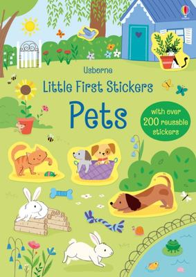 Little First Stickers Pets