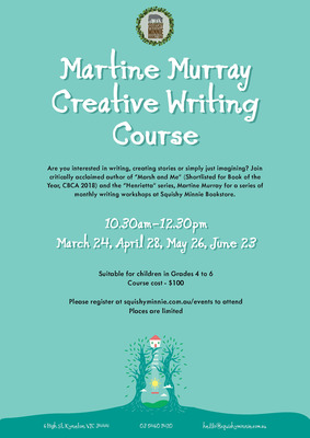 Martine Murray Creative Writing Course