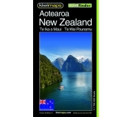 Kiwi Maps New Zealand Travel & Touring Map