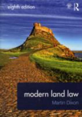 Modern Land Law Eighth Edition