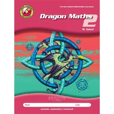 Dragon Maths 2 (Year 4) - 3rd Edition (2018)