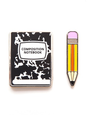 Large_notebook_and_pencil_out_of_print_pin