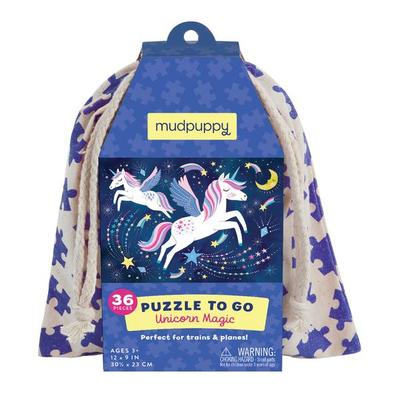 Unicorn Magic Puzzle to Go (36 pce)