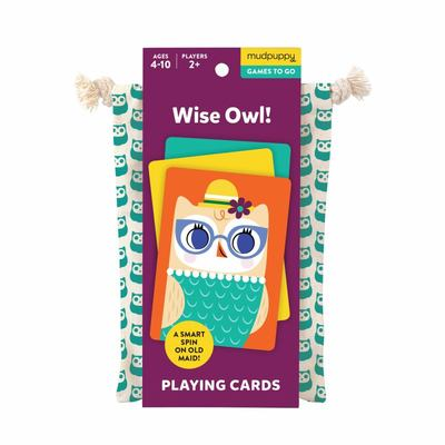 Wise Owl Playing Cards to Go