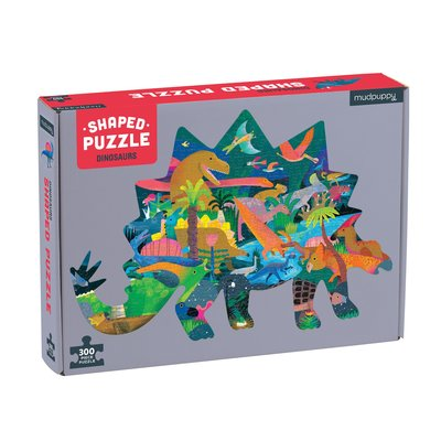 Dinosaurs Shaped Puzzle (300 pce)