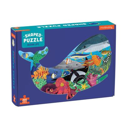 Ocean Life Shaped Puzzle (300 pce)