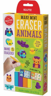 Make Mini Erasers: Animals (Klutz)