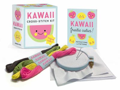 Kawaii Cross-Stitch Kit - Super-Cute!