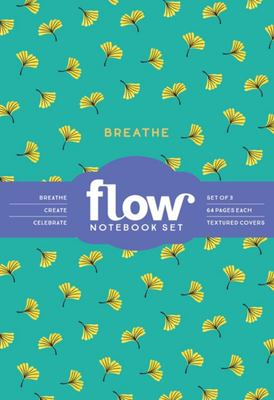 Breathe, Create, Celebrate: a Set of 3 Notebooks