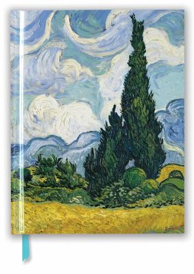Vincent Van Gogh: Wheat Field with Cypresses (Blank Sketch Book)
