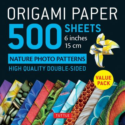 Origami Paper 500 Sheets 6 Inches 15 Cm
