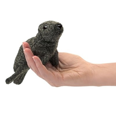 Harbour Seal Mini Finger Puppet