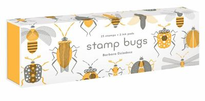 Stamp Bugs - 25 Stamps and 2 Ink Pads