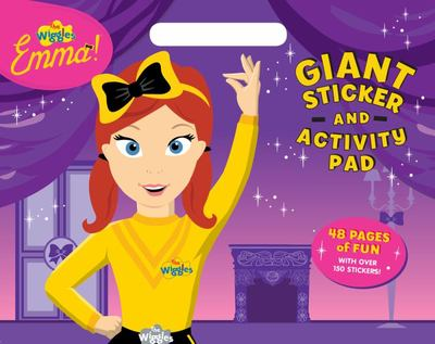 Wiggles Emma!: Giant Sticker & Activity Pad